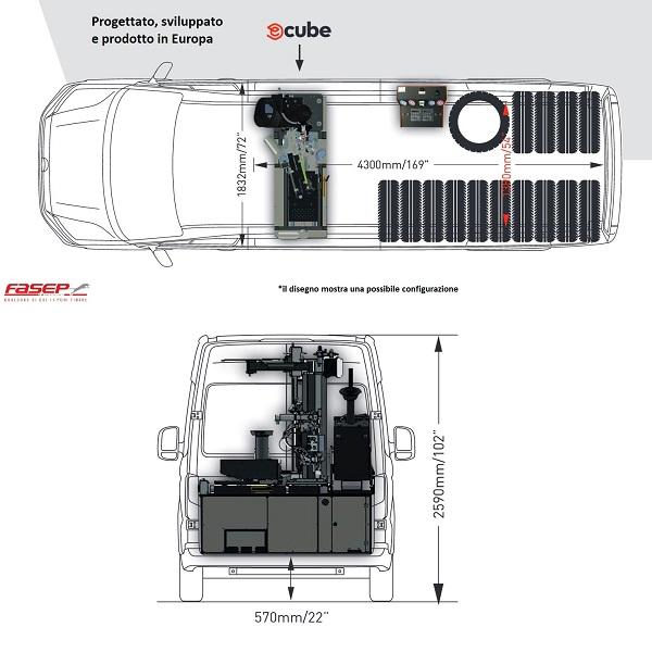 ecube-dimensions